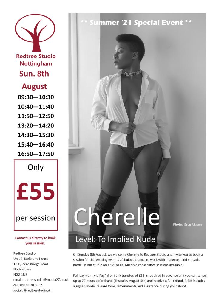 Cherelle Studio Day